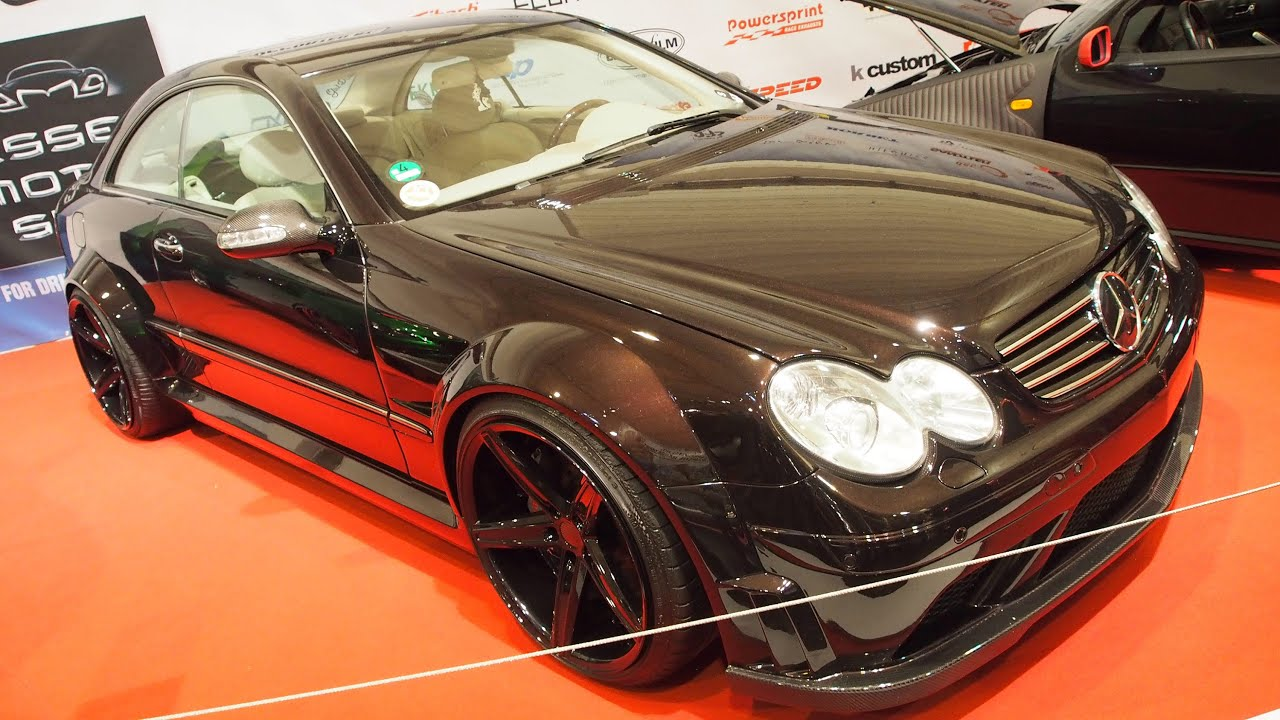 mercedes benz clk 320 tuning at essen motorshow exterior. Black Bedroom Furniture Sets. Home Design Ideas