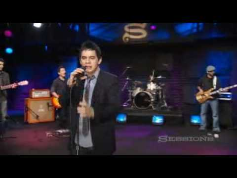David Archuleta AOL sessions A little too not over you
