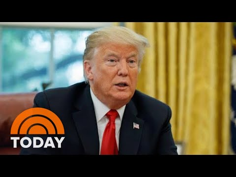 President Donald Trump Stands By Stormy Daniels 'Horseface' Insult | TODAY