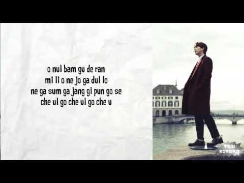 Kyuhyun - 밀리언조각 (A Million Pieces) Lyrics (easy lyrics)