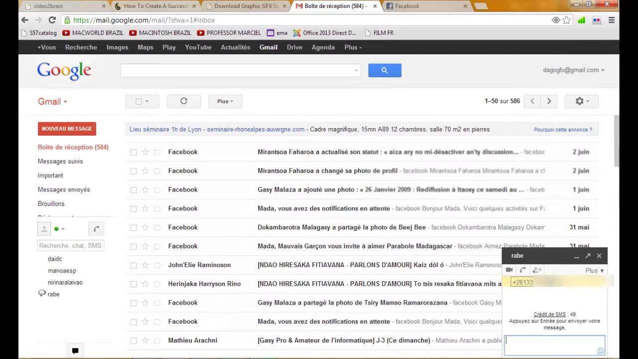 Fomba Fandefasana Sms Gratuit Gmail