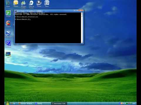 Using CMD To Run System Restore
