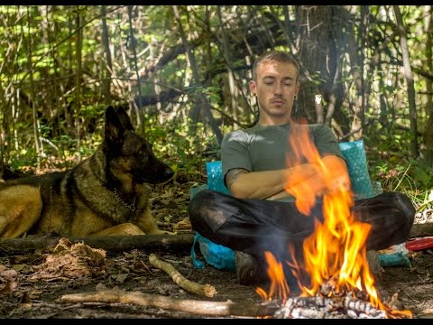 Bushcraft Instructionals: Shemagh and Tomahawk Outing