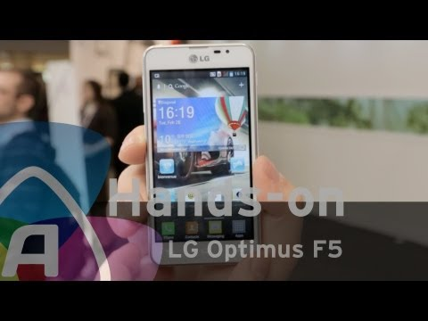 LG Optimus F5 hands-on/preview (Dutch)