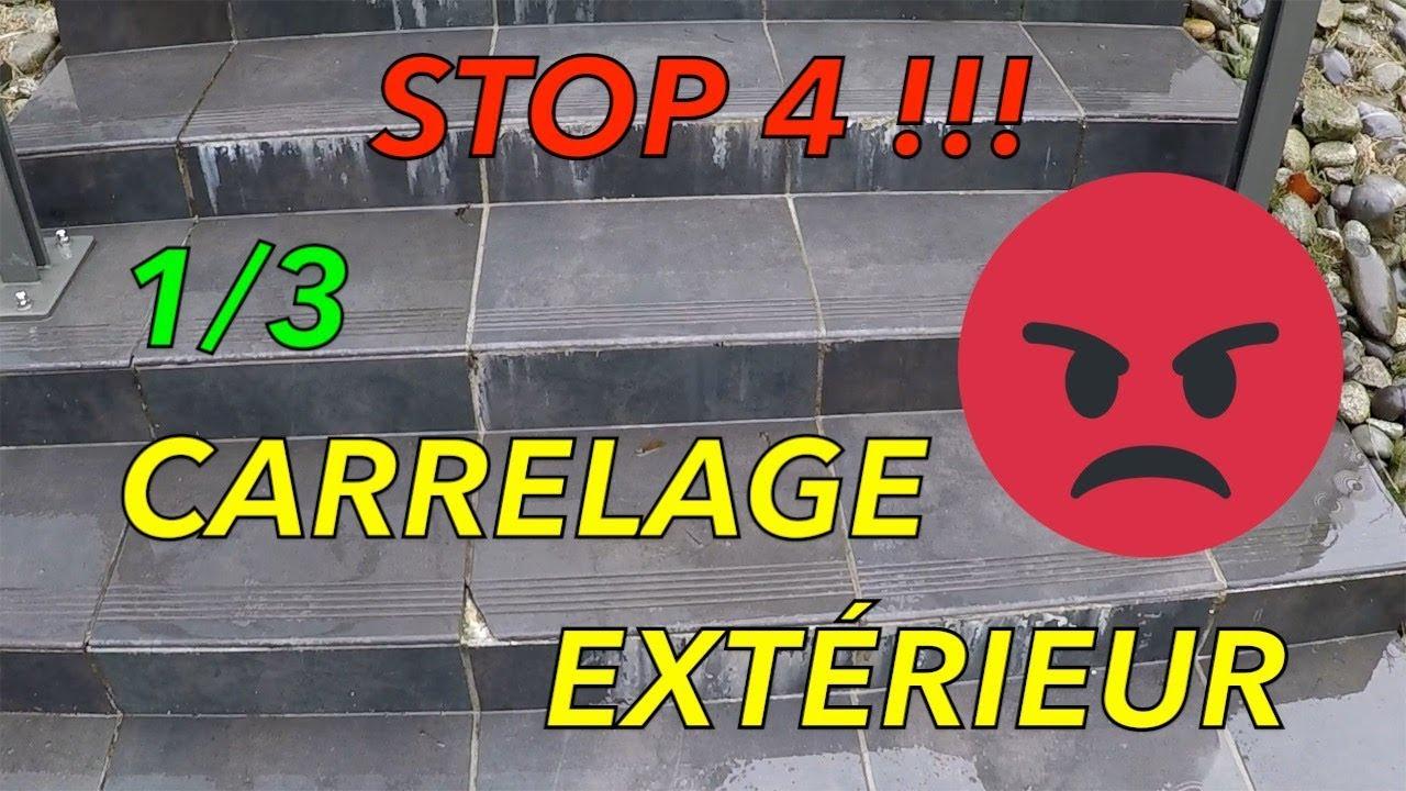 Natte Drainante Sous Carrelage Extérieur comment carreler une terrasse exterieur en bÉton ? 1/3 sir 4