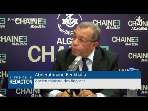 Abderahmane Benkhalfa Ancien ministre des finances