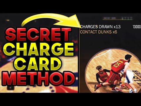 *New* Secret Charge Card Method | Charge Card 2k18 | Fastest & Easiest Badge Tutorial | 2k18 Badges
