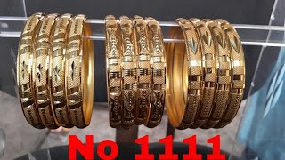 New latest bangles Lancer micro gold with weight photo naaz Bangles jewelry