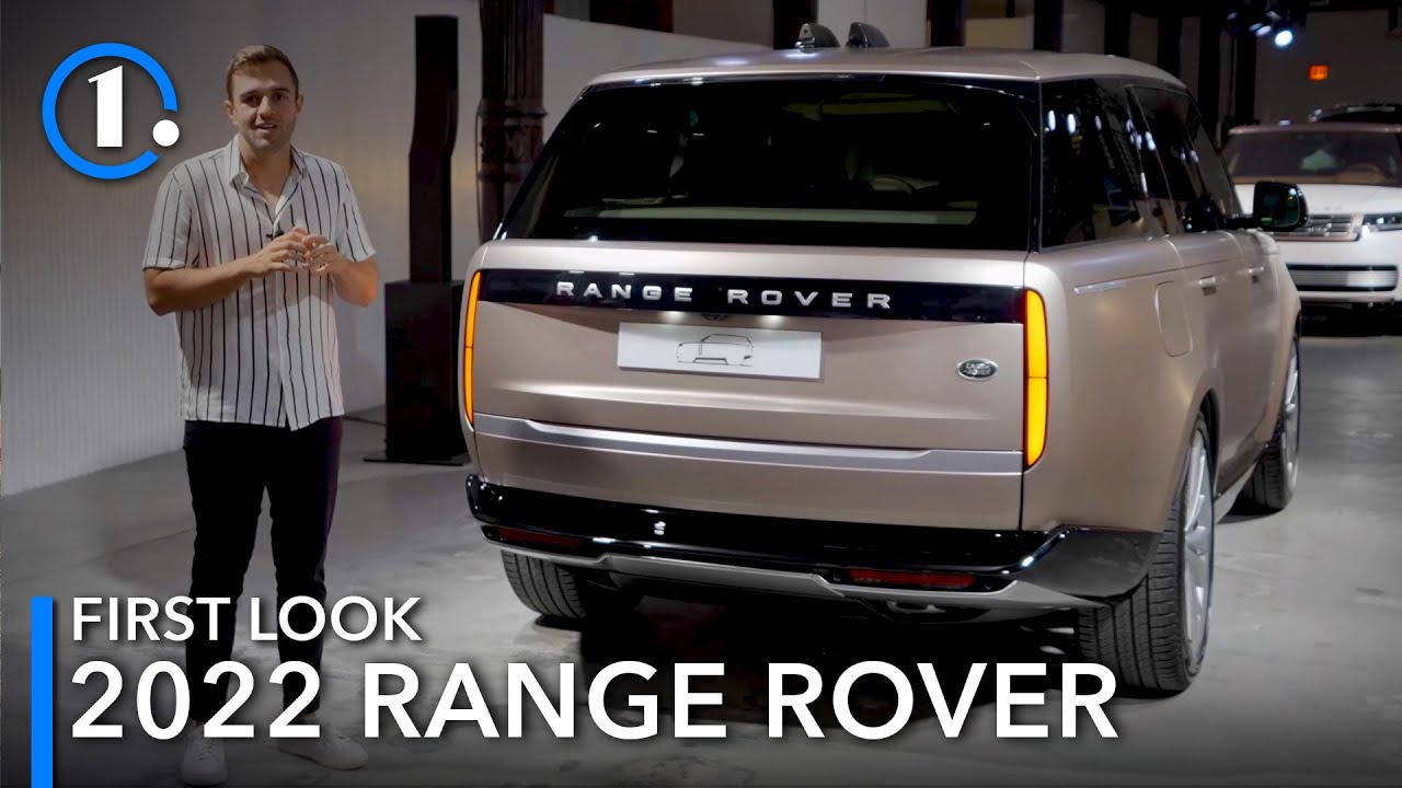 2022 Range Rover First Look UpClose Details