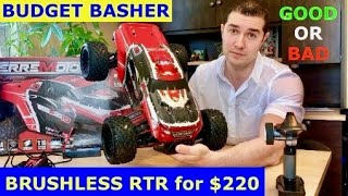 Redcat Terremoto 10 V2. (Cheap Brushless Budget Basher) Unboxed and tested