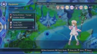 Megadimension Neptunia V-II Costume List