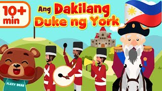 The Grand Old Duke of York in Filipino | Awiting Pambata Compilation