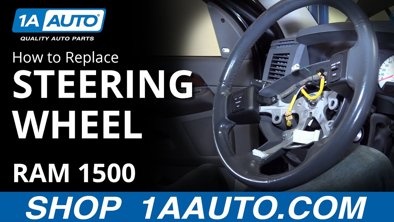 How To Remove And Reinstall Steering Wheel 08 Dodge Ram