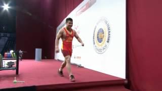 LONG Qingquan 1j 157 kg cat. 56 World Weightlifting Championship 2013