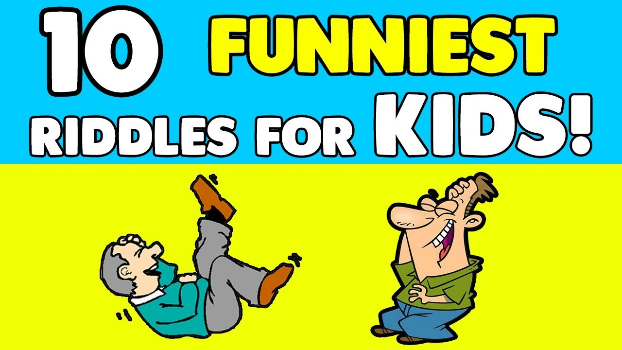 10 FUNNY RIDDLES FOR KIDS!! - (NEW riddles with answers!)