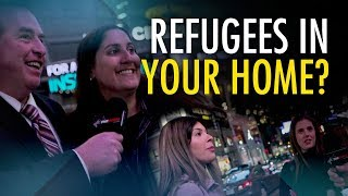 """Would you take a refugee into your home?"" The Menzoid asks Torontonians"