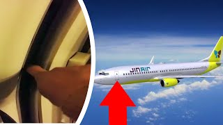 South Korean airline leaves door open on flight; Baby born on plane during flight - Compilation