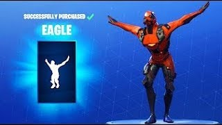 New Fortnite Emote: Eagle k-pop dance (Leaked)