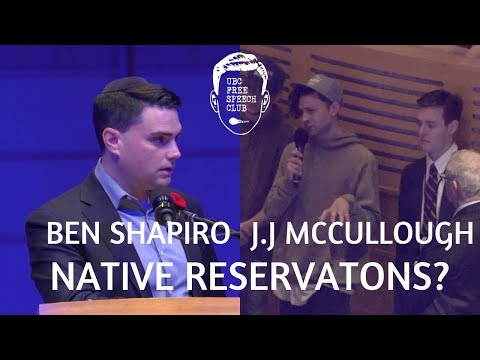 J.J McCullough Asks Ben Shapiro About Native Reservations