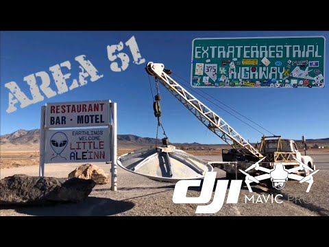 Visiting Top Secret Area 51 And Extraterrestrial Highway