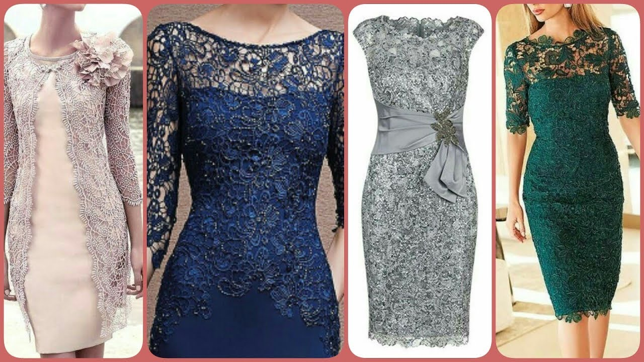 Outstanding Lace Net Fabric Decorated Plus Size Body Cone Dress Designs Mother Of The Bride Dresses Youtube
