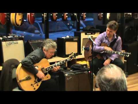 Route 7 Music Guitar Clinic Jazz Legends featuring Jack Wilkins and Pete Bernstein. Segment 1