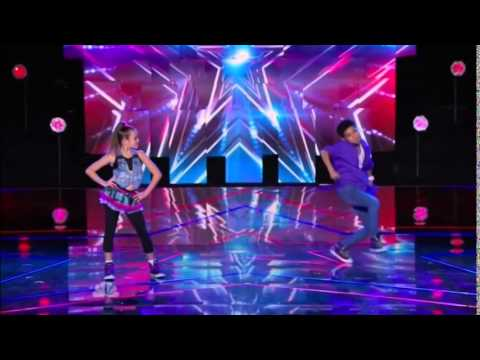America's Got Talent 2014 Kaycee & Gabe New York Week Day 2