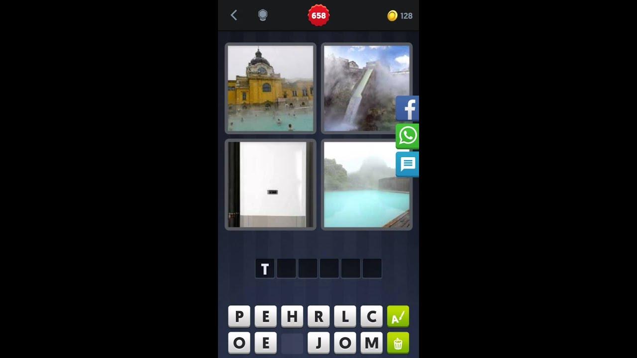 4 Bilder 1 Wort Freibad Wasserfall Therme Heißes Wasser Youtube