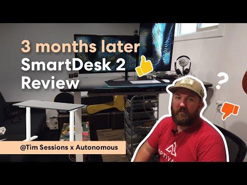 3 months later SmartDesk 2 Review | @Tim Sessions x Autonomous