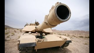 MORE POWER !!! For US Military M1 Abrams Tank with new multi purpose munitions