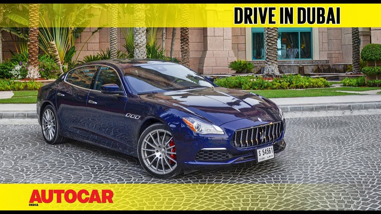 Exploring Dubai In A Maserati Feature Autocar India Youtube