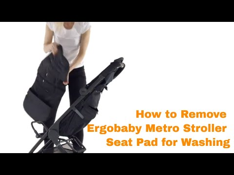 How Do I Remove the Ergobaby Metro Stroller Seat Pad for Washing