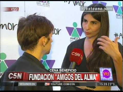 C5N - VIVA LA TARDE: CENA A BENEFICIO DE LA FUNDACION AMIGOS DEL ALMA