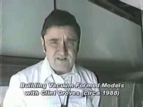 Building vacuum formed airliner models with Clinton H. Groves ATP Airliners America