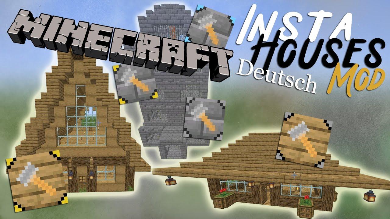 InstaHouses - Mods - Minecraft - CurseForge