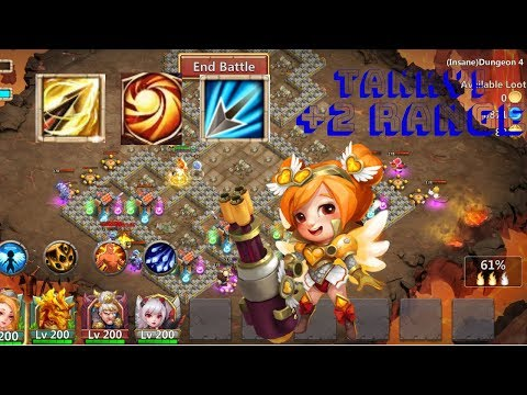 Zealous Drive | Sacred Light | Heartbreaker | Gameplay | Insane Dungeon | Solo | Castle Clash