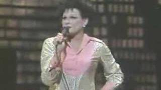 Jim Bailey as Judy Garland at 1984 olympics