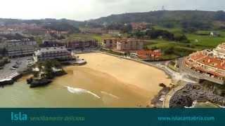 Isla Cantabria - Playa Isla