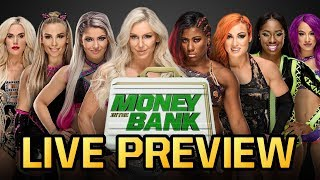 WWE Money in the Bank 2018 LIVE Preview