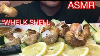ASMR WHELK SHELL (Chewy Eating Sounds) No Talking