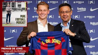 Last week i sat down with barcelona's dutch midfielder frenkie de jong where he spoke about his journey from a small town, arkel, to dream club, ba...