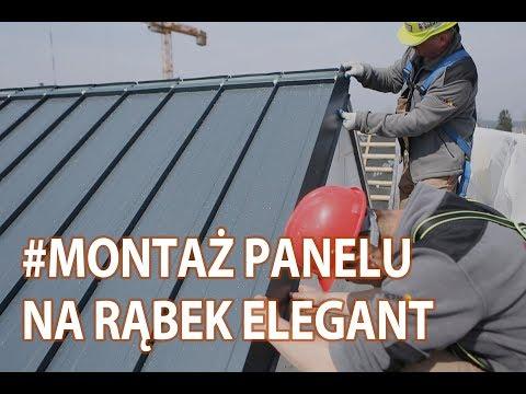 Jak pokryć dach rąbkiem? Instrukcja montażu panelu na rąbek Elegant