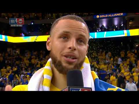 Stephen Curry Postgame Interview - Game 3 | Rockets vs Warri