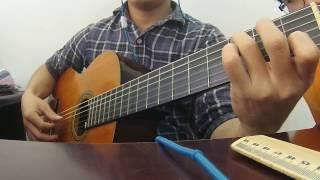 Ferdinando Carulli ( Luyện Ngón GUITAR CLASSIC - ARPE`GE Có 3 Nốt  ) . Play by Trần Thanh Điền.