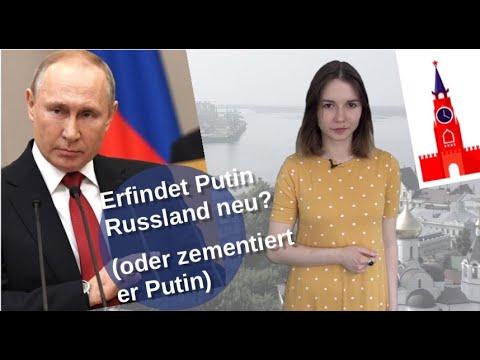 Erfindet Putin Russland neu? (oder zementiert er Putin)