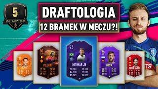 12 BRAMEK W JEDNYM MECZU?! | DRAFTOLOGIA #5 FIFA 19