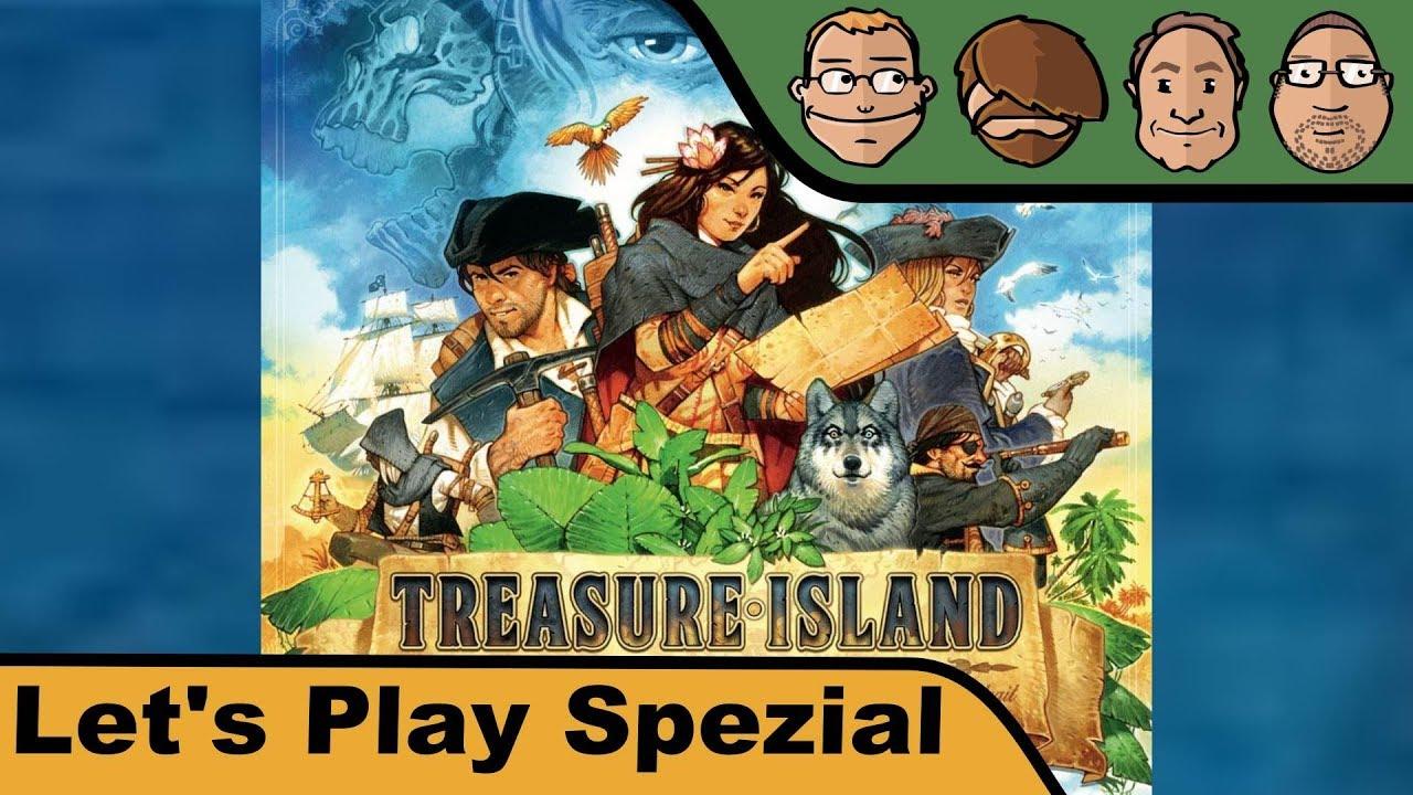 Treasure Island Brettspiel