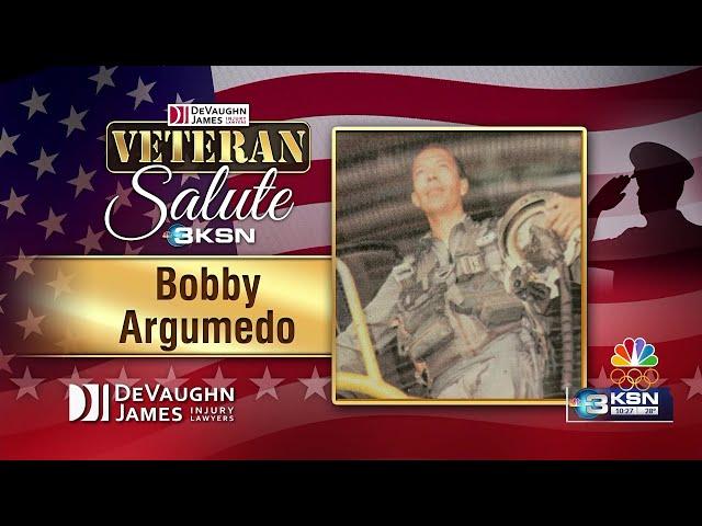 Veteran Salute: Bobby Argumedo