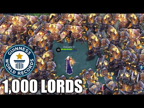 1000 LORDS Vs Me? 🤔 Who Will Win??