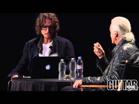 Jimmy Page Discusses Led Zeppelin History & More With Soundgarden's Chris Cornell